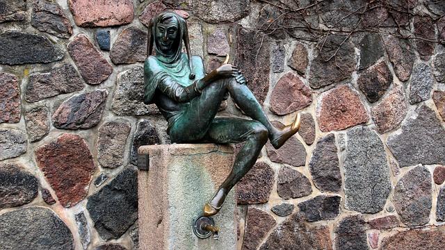 Till Eulenspiegel, Figure, Metal, Mölnn, Sculpture