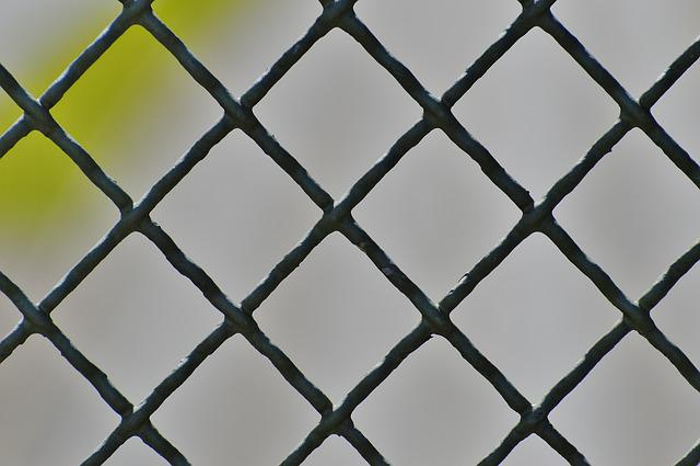 Fence, Iron, Metal, Grid