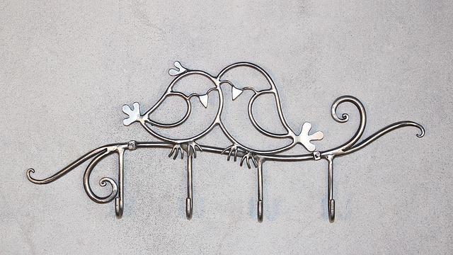 Hanger, Key Hanger, Metal