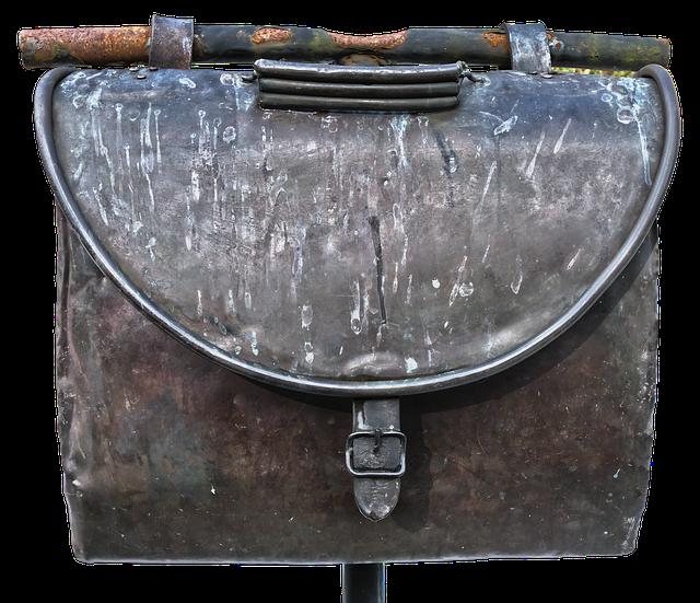 Letter Boxes, Mailbox, Bag, Copper, Metal, Letters