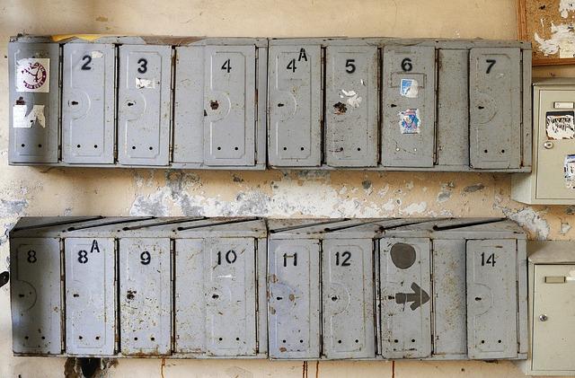 Mailbox, Letter Boxes, Metal, Vilnius, Lithuania