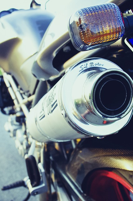 Motorcycle, Exhaust, Metal, Chrome, Two Wheeled Vehicle