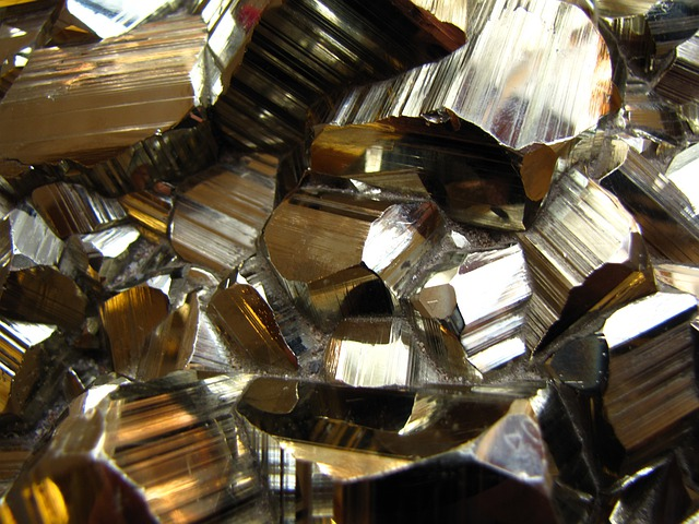Pyrite, Crystal, Nature, Crystal Formation, Metal