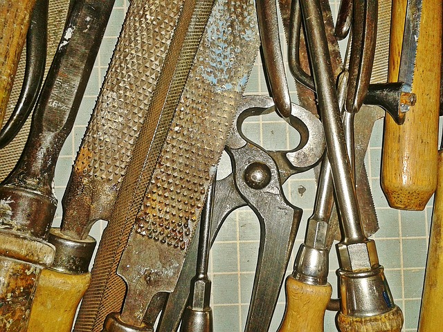 Tool, Tool Box, Pliers, Files, Screwdriver, Metal