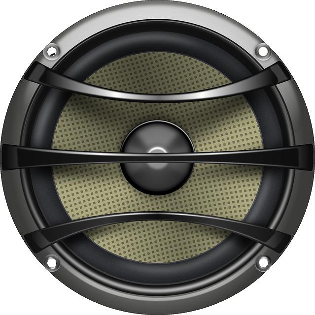 Speaker, Loudspeaker, Audio, Electronics, Grey, Metal
