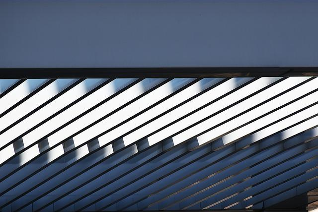 Steel, Roof, Pattern, Minimalism, Construction, Metal