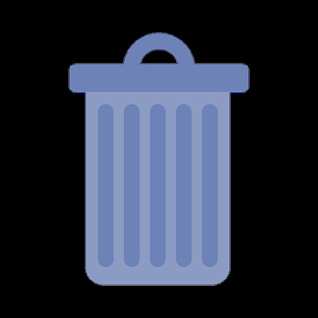 Garbage, Bucket, Waste, Ton, Lid, Metal