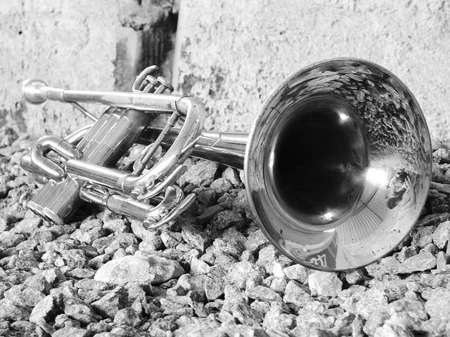 Music, Instrument, Trumpet, Metal, Trombone