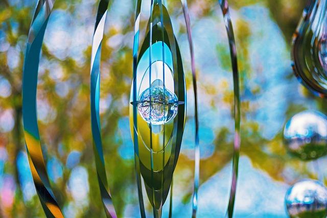 Windspiel, Metal, Garden Decoration, Metal-art
