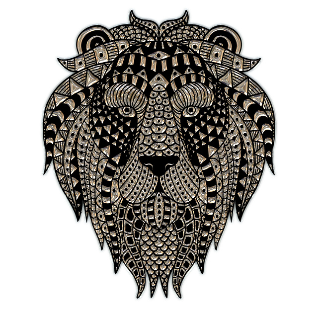 Lion Head, Metallizer, Png, Art, Glass, Blacksmithing