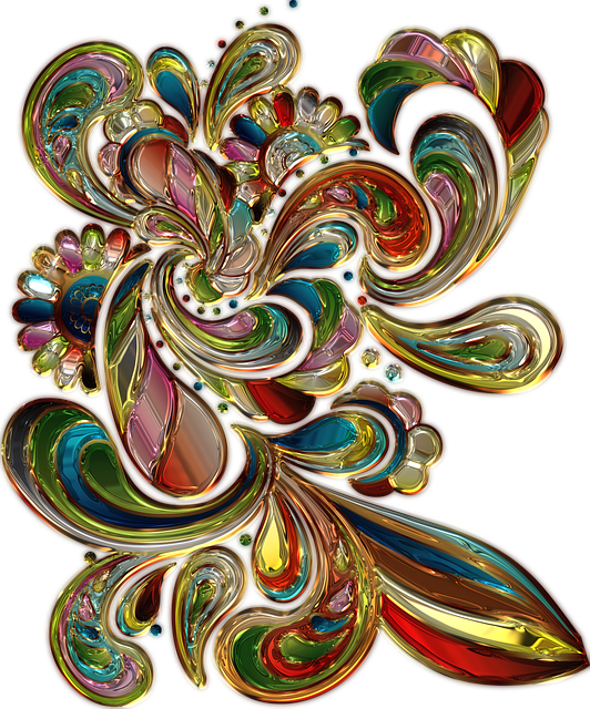 Deco, Colorful, Metallizer, Art, Color, Ornament