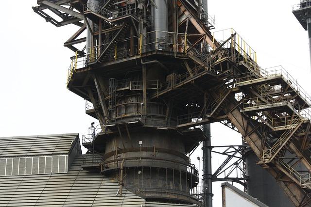Factory, Metal, Metallurgy, Fundidora, Melt