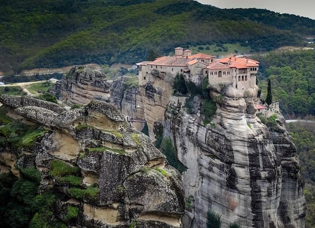 Meteora, Greece, Monastery, Orthodox, Mountain, Greek