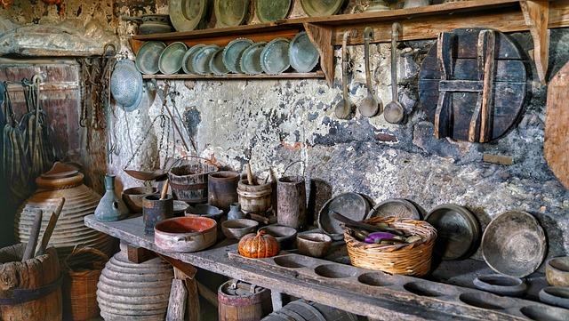 Monastery, Kitchen, Orthodox, Greek, Meteora, Greece
