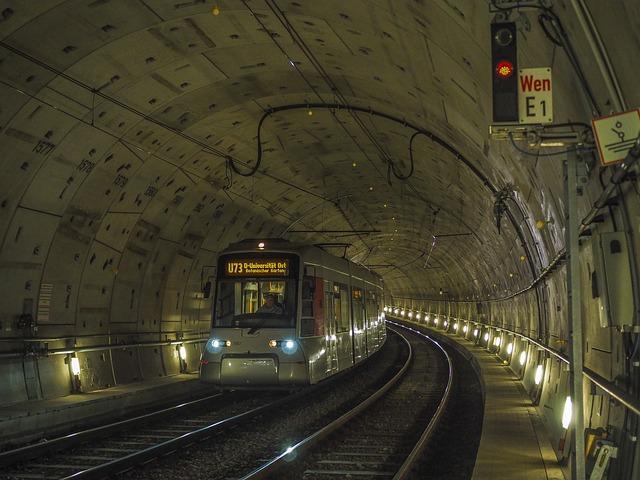 Tunnel, Metro, Architecture, Transport, Traffic, Light