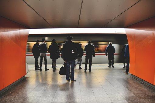 Metro, People, Public Transportation, Subway