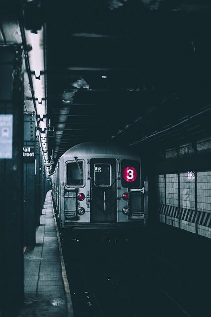 Transport, Train, Subway, Metro, Underground
