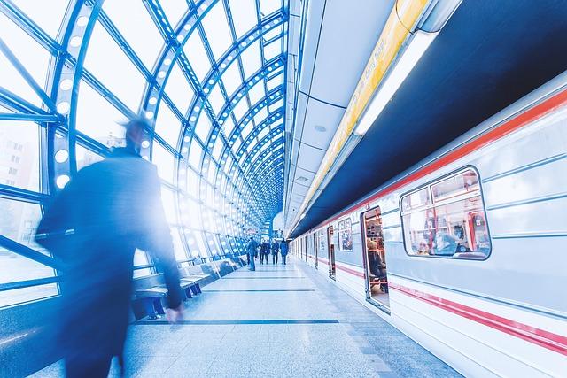 City, People, Underground, Metro, Transport, Transfer