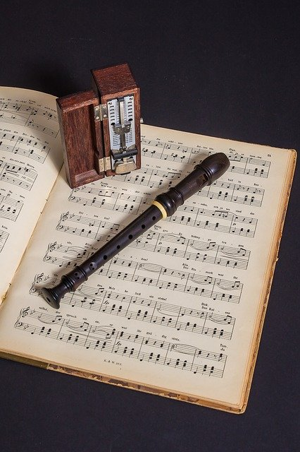 Flute, Recorder, Musical Instruments, Metronome