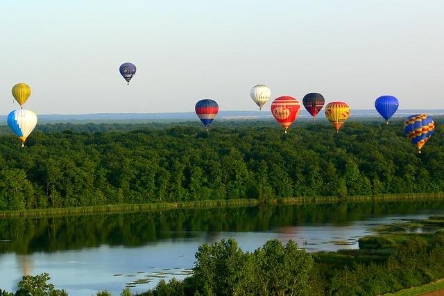 Hot Air Balloon, Metz, Balloons