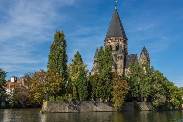 Church, Monument, Metz