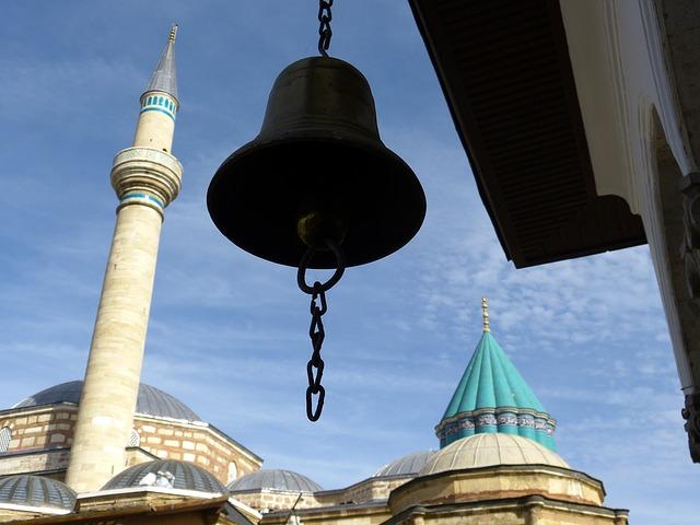 Mevlana Monastery, Konya, Turkey, Minaret