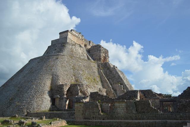 Pyramid, Mexico, Maya, Architecture, Uxmal, Aztec, Sun