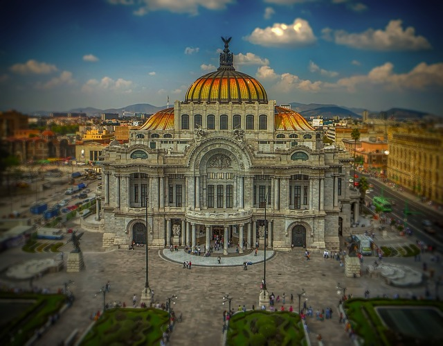 Mexico, Mexico City, Palace, Art, Theatre, Architecture