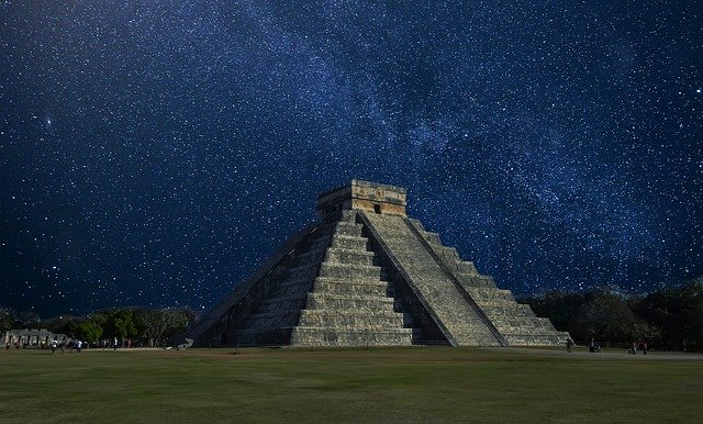 Chichen Itza, Mexico, Pyramid, Pyramid In Mexico