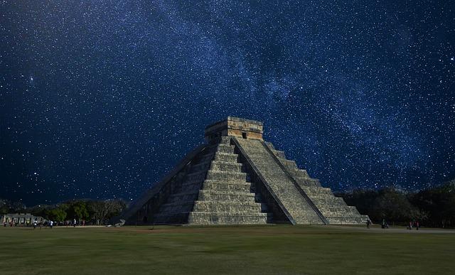 Chichen Itza, Mexico, Pyramid, Pyramid In Mexico