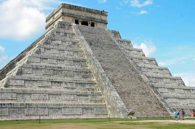 Mexico, Chichen Itza, Pyramid, Maya, Castillo, Ruins