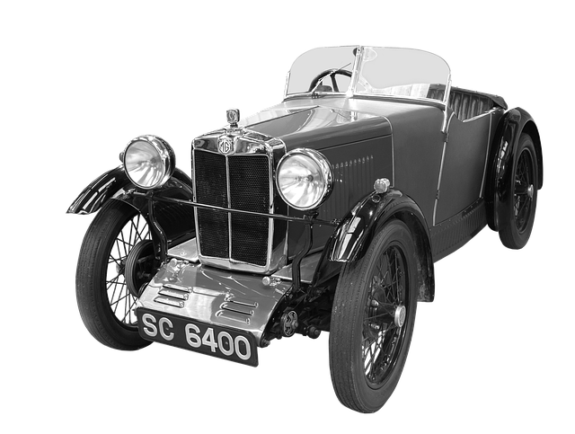 Mg, Antique Car, 1930, Museum Piece, Two-seater