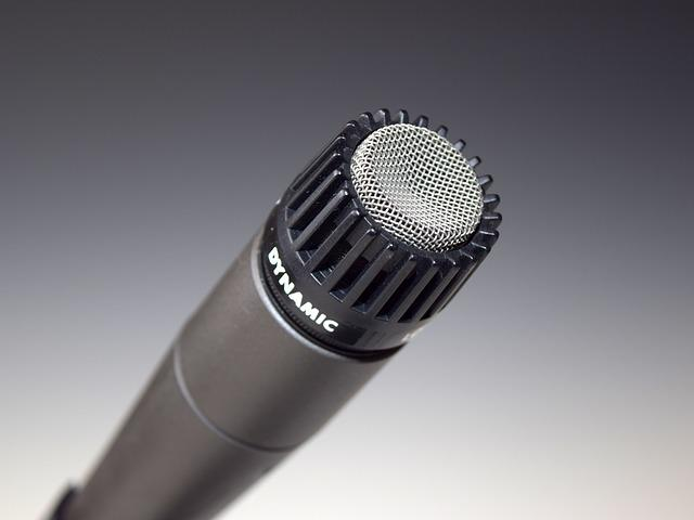 Microphone, Mic, Dynamic, Audio, Recording, Studio