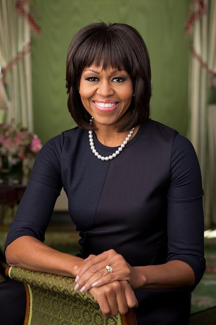 Michelle Obama, 2013, Official Portrait