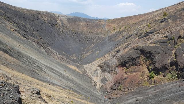 The Crater Of The Volcano Paricutin, Michoacán, Mexico