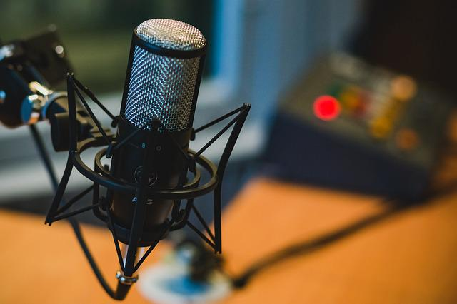 Microphone, Audio, Recording, Podcast, Music
