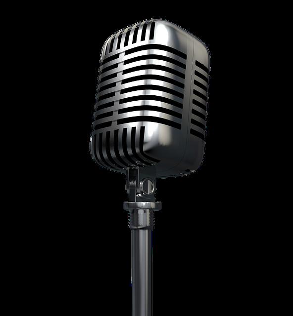 Microphone, Radio, Audio, Record, Podcast