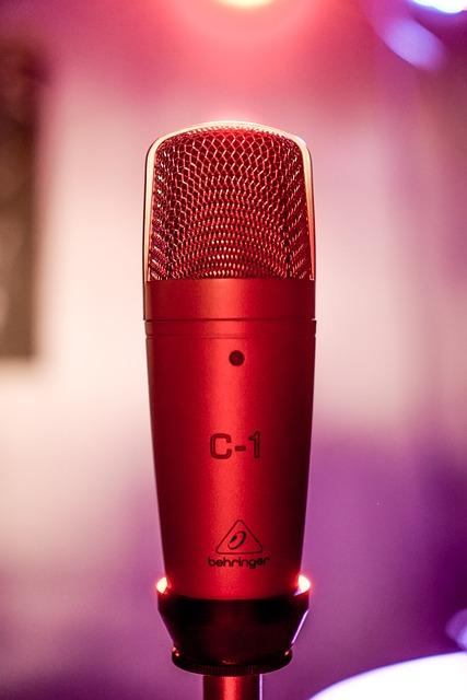 Microphone, Karaoke, Music, Voice, Pop, Sound, Singer