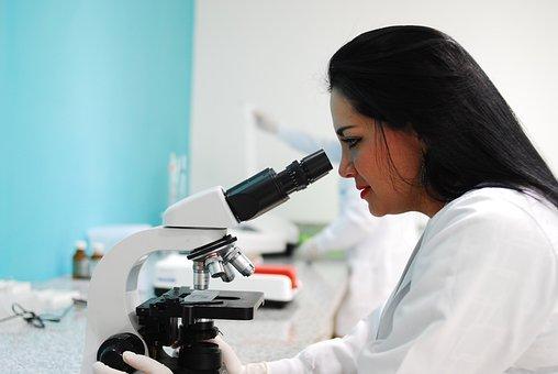 Microscope, Research, Scientific, Lab