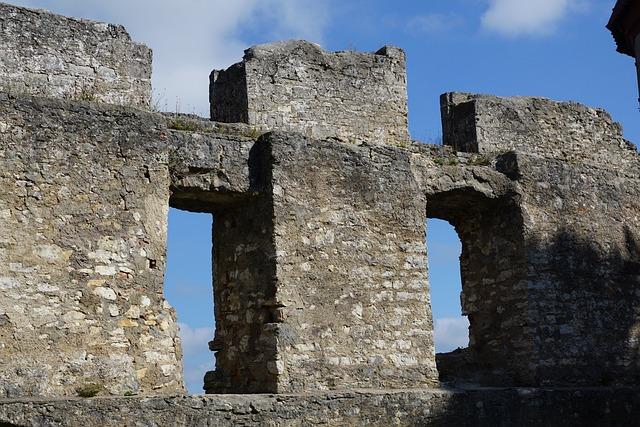 Castle, Ruin, Tuttlingen, Honing Castle, Middle Ages
