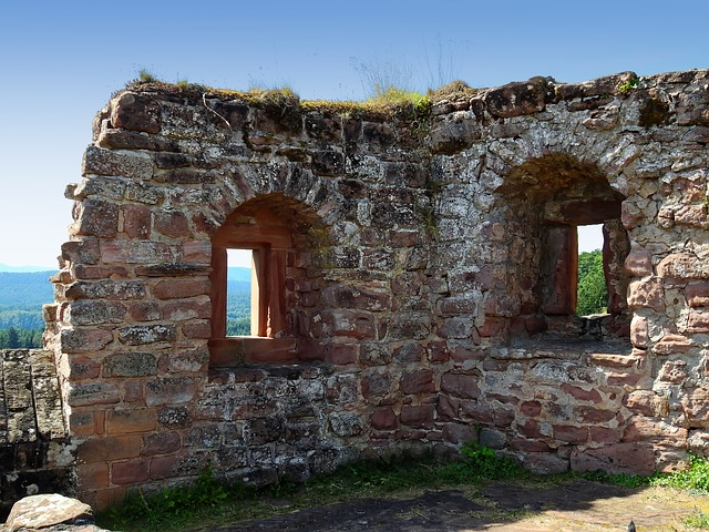 Castle, Ruin, Middle Ages, Wall, Knight's Castle