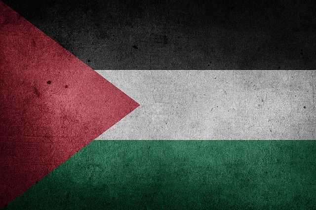 Palestine, Flag, National Flag, Middle East, Asia