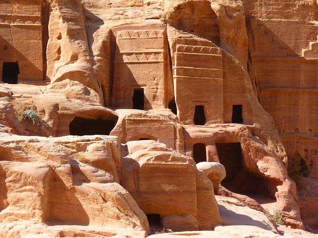 Petra, Jordan, Holiday, Travel, Middle East, Ruin