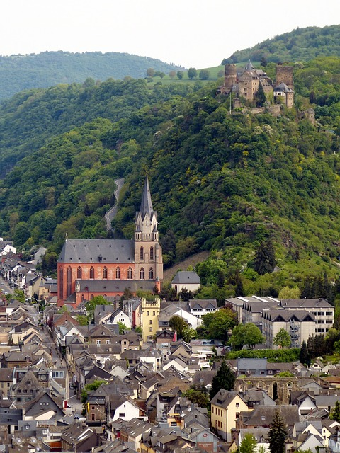 Oberwesel, Castle, Rhine, Middle Rhine, Germany