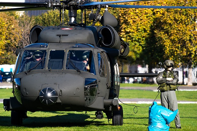 Helicopter, Black Hawk, Federal Army, Military
