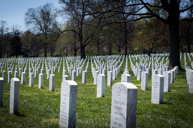 Arlington National Cemetery, Headstones, Military Grave