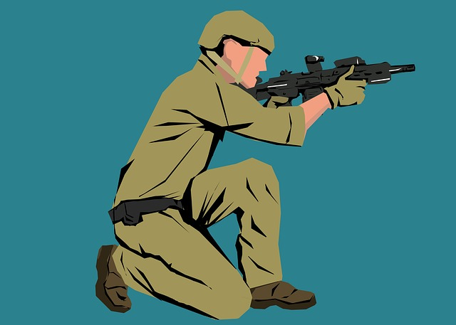 Soldier, Work, People, Military, Army, Man, Person