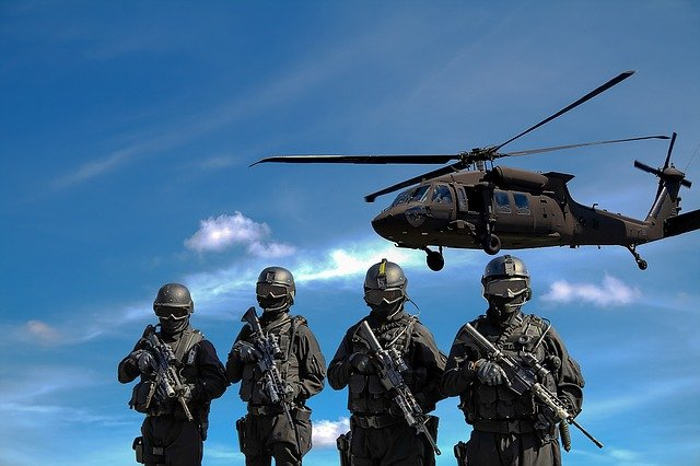 Police, Helicopter, Military, War, Attack, Army