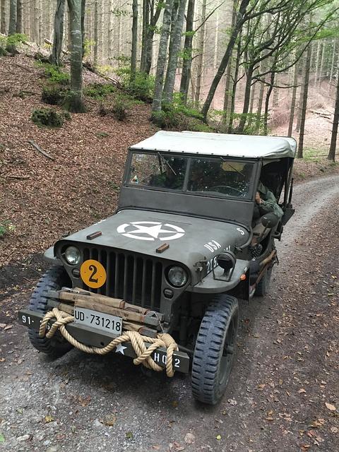 Reenactment, Military Vehicles, Second War, Military