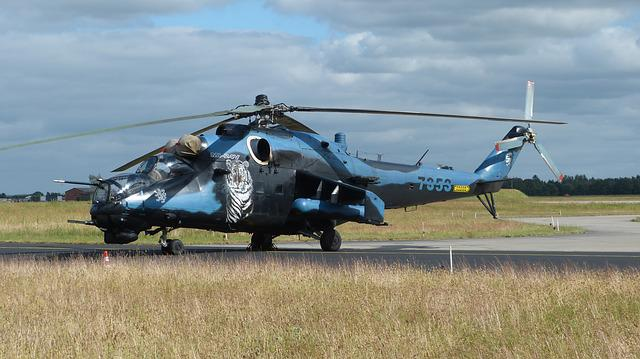 Helicopter, Special Paint, Military